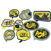 Kit Placas Batmna Geek c/9 unid - Festcolor