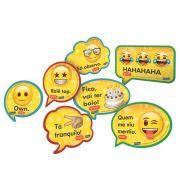 Kit Placas Emoji C 09 unid Festcolor
