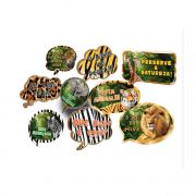 Kit Placas Mundo Animal C 09 unid Festcolor