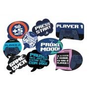 Kit Placas PlayStation c/9 unid Festcolor