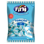 Marshmallow 250g Torção Azul /Branco Fini