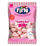 Marshmallow 250g Torção Rosa/Branco Fini