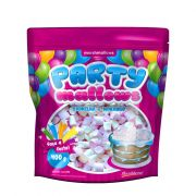 Marshmallow 400g Party Mallows Baunilha e Morango Florestal