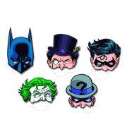 Máscara Batman Sortido C 08 unid Festcolor