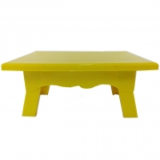 Mesa para Doces 20cmx14cmx10cm Amarelo
