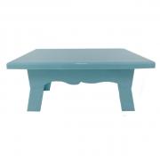 Mesa para Doces 20cmx14cmx10cm Azul Bebê