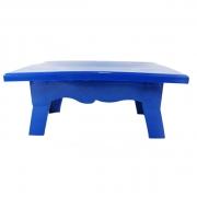 Mesa para Doces 20cmx14cmx10cm Azul Escuro