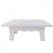 Mesa para Doces 20cmx14cmx10cm Branco