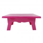 Mesa para Doces 20cmx14cmx10cm Pink