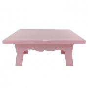 Mesa para Doces 20cmx14cmx10cm Rosa Bebê