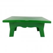 Mesa para Doces 20cmx14cmx10cm Verde