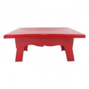 Mesa para Doces 20cmx14cmx10cm Vermelho