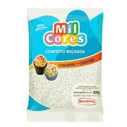 Confeito Miçanga N.0 500g Branca Mil Cores