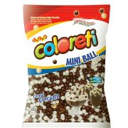 Mini Ball Coloreti Jazam Ao Leite e Branco 500g