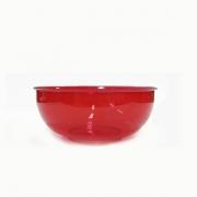 Mini Bowl 300 ml Vermelho Transparente