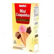 Mini Casquinha Crocante 105g Marvi