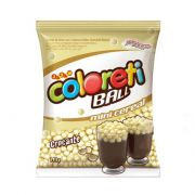 Mini Cereal Ball Branco Coloreti Jazam 500g