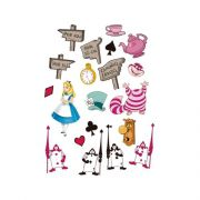 Mini Personagens Alice no País das Maravilhas C 20 unid Regina