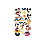 Mini Personagens Mickey 17 unid Regina
