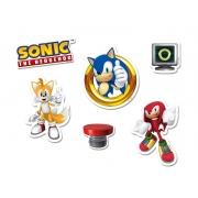 Mini Personagens Sonic c/50 unid Regina