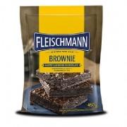 Mistura Bolo Brownie 450g Fleischmann