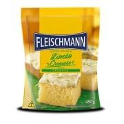 Mistura Bolo Limão Cremoso 450g Fleischmann