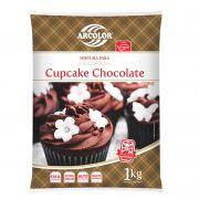 Mistura para Cupcake Chocolate 1kg Arcólor