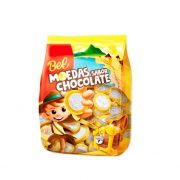 Moedas Sabor Chocolate 500g Bel