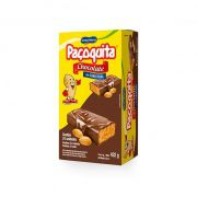 Paçoquita Cobertura de Chocolate 24 unid Santa Helena
