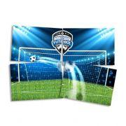 Painel 4 Lâminas Apaixonados por Futebol Festcolor