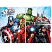 Painel 4 Lâminas Avengers Regina
