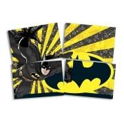 Painel 4 Lâminas Batman Geek - Festcolor