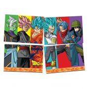 Painel 4 Lâminas Dragon Ball Festcolor