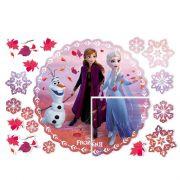 Painel 4 Lâminas Frozen 2 Regina