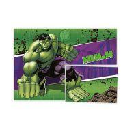 Painel 4 Lâminas Hulk Regina
