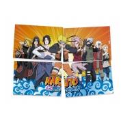 Painel 4 Lâminas Naruto Festcolor
