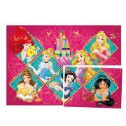 Painel 4 Lâminas Princesas Amigas Regina
