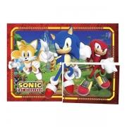 Painel 4 Lâminas Sonic Regina