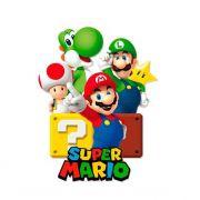 Painel 4 lâminas Super Mario Cromus