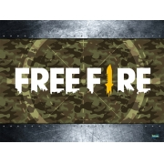 Painel Decorativo TNT Free Fire Festcolor