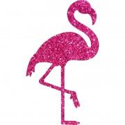 Painel Flamingo Silhueta Modelo 1 Piffer