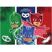 Painel Grande T.N.T Pj Masks 1,40mx1,03m c/01 unid Piffer
