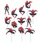 Palito Homem Aranha C 12 unid Piffer