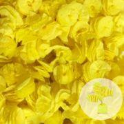 Papel de Bala Caracol Amarelo 40 unid Real Seda