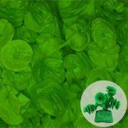 Papel de Bala Caracol Verde Escuro 40 unid Real Seda