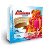 Pasta Americana Rosa Bebê Arcolor 500g