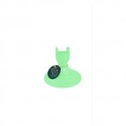 Pé Torneado 135mm Verde Claro Só Boleiras
