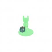 Pé Torneado 180mm Verde Claro Só Boleiras