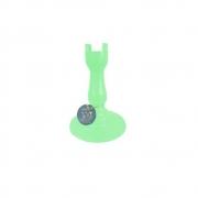 Pé Torneado 235mm Verde Claro Só Boleiras