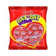 Pirulito Bat Bat Coração Morango 500g Peccin